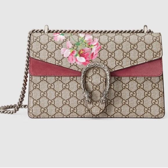 700c2d6267937e Gucci Bags | Dionysus Gg Blooms Small Chain Bag | Poshmark